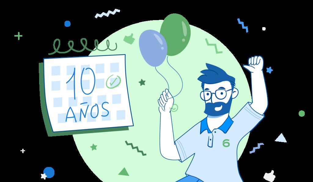 10o aniversario 6conecta